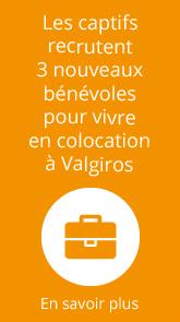 Recrutement de bénévoles aux Captifs.fr