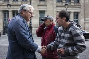 Maraude gratuite ©Sébastien Godefroy - SNCF