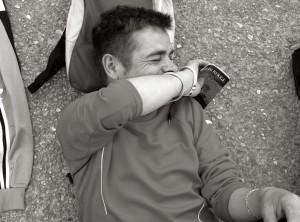 Jeune en errance - Accueil Lazare ©Géraud Bosman