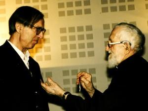 Remise de la Légion d'Honneur par l'Abbé Pierre