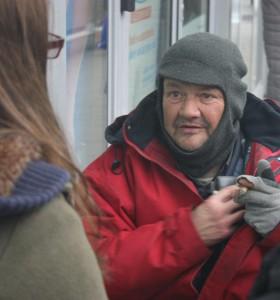 Rencontre avec les personnes de la rue