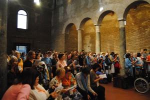 Pèlerinage de SDF à Rome