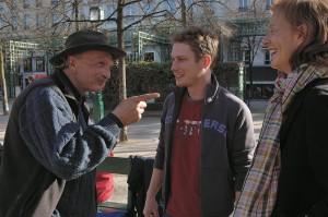 Travail social dans la rue