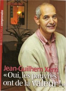 Les pauvres ont de la valeur - Pèlerin magazine Jean-Guilhem Xeri