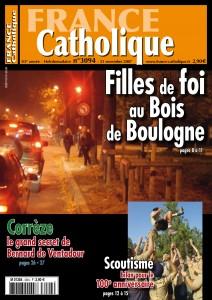 Filles de foi au Bois de Boulogne - France Catholique - Novembre 2007