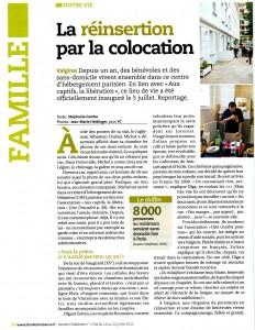 La réinsertion par la colocation - Famille Chrétienne - 2011