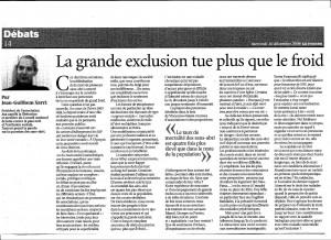La grande exclusion tue plus que le froid - Le Figaro