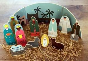 Crèche de Noël Aux captifs la libération