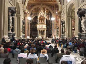 Messe à St Jean de Latran