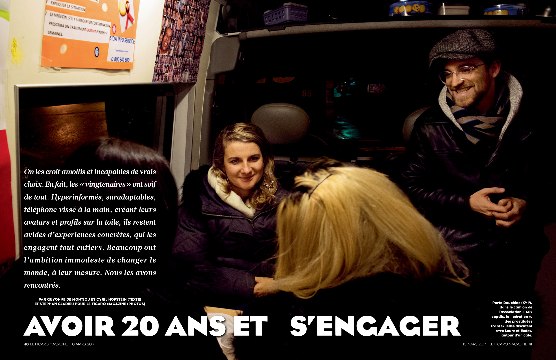 Figaro Magazine - Jeunes et engagés